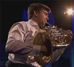 Ben Goldscheider corniste