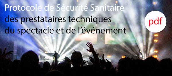 Sécurité sanitaire du spectacle et de l'événement