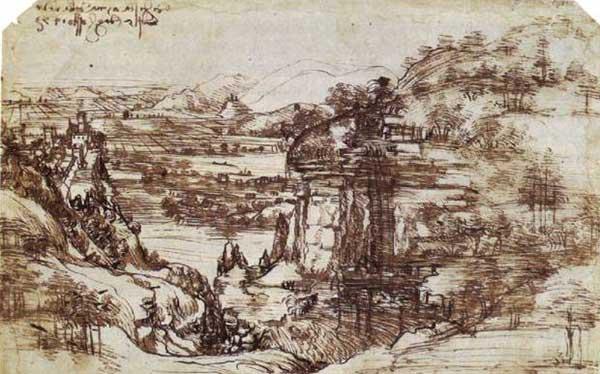 Il Paesaggio Léonard de Vinci