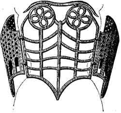 Buste en fer du XVI siècle