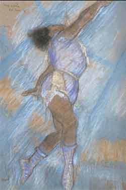 Miss Lala par Edgar Degas