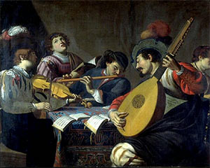 Le concert (vers 1620) Theodor Rombouts