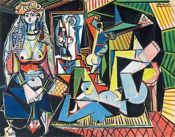 Les femmes d'Alger, Picasso