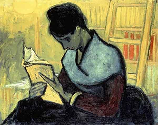 Lecture par Van Gogh, 1988