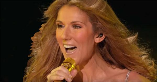 Céline Dion et trompe d'Eustache