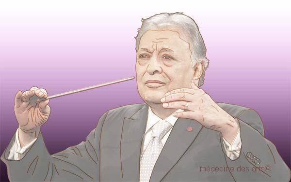 Zubin Mehta chef d'orchestre