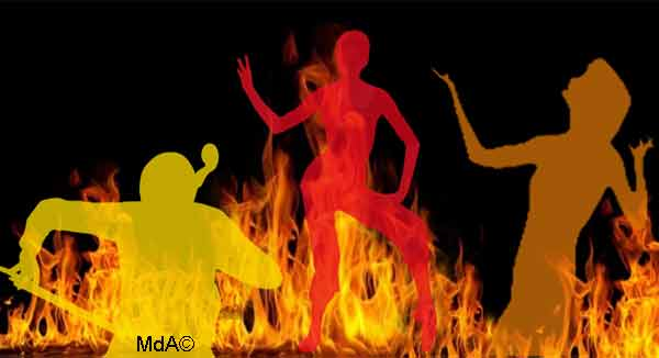 burn-out artiste