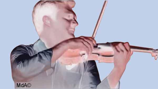 douleur et pratique du violon