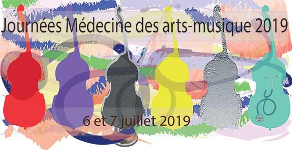 Journées Médecine des arts 2019