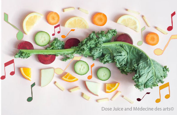 Santé alimentaire du musicien