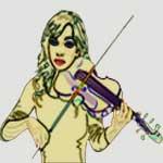 violon et cou