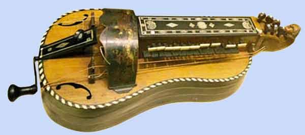 Vielle - instrument de musique