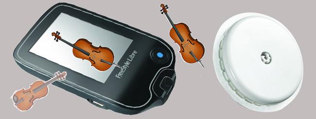 Diabéte et musicien à cordes