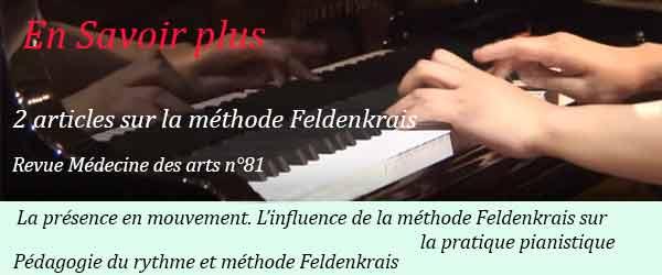 Feldenkrais piano