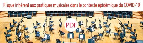 Rapport Médecine des Arts sur le COVID et la reprise des pratiques de la musique