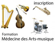 Cursus Médecine des arts-musique - s'inscrire 2021-2022
