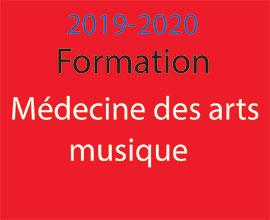 Formation Médecine des arts-musique