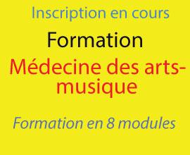 Se Former à la Médecine des Arts-musique