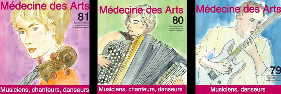 Revue sur la santé du musicien, santé du chanteur, santé du danseur
