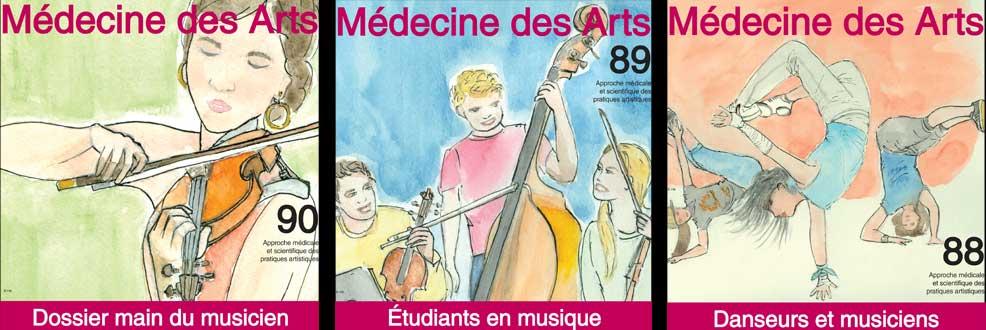 Santé des artistes, musicien, chanteur, danseur, circassien