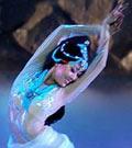 Accident chez une danseuse