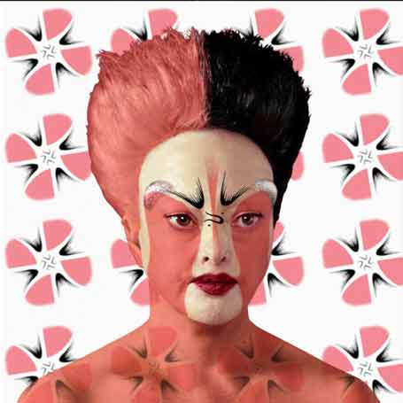 Orlan, Pekin Opera Facial Designs, n°5, 2014