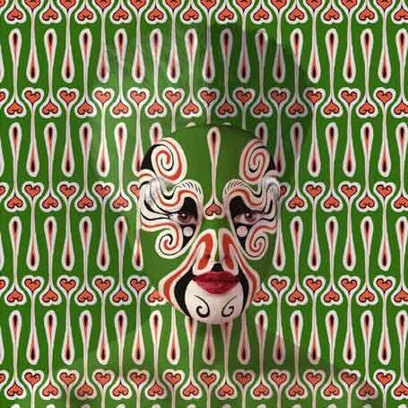 Orlan, Pekin Opera Facial Designs, n°6, 2014