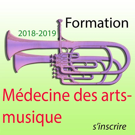 Cursus Médecine des arts-musique 2018-2019