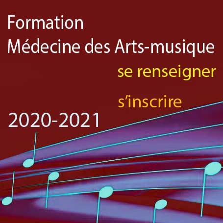 Formation Médecine des Arts-musique 2020-2021