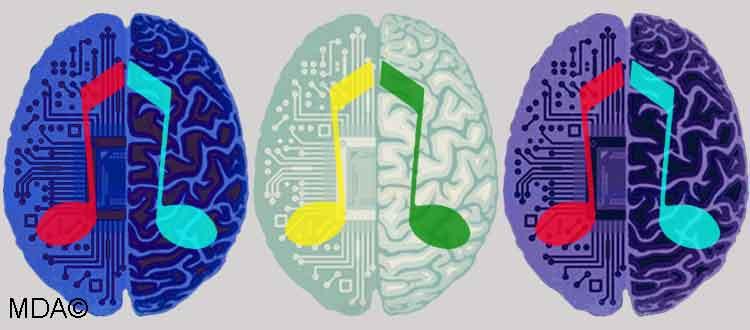 Absence de plaisir à l'écoute de la musique, ou anhédonie à la musique