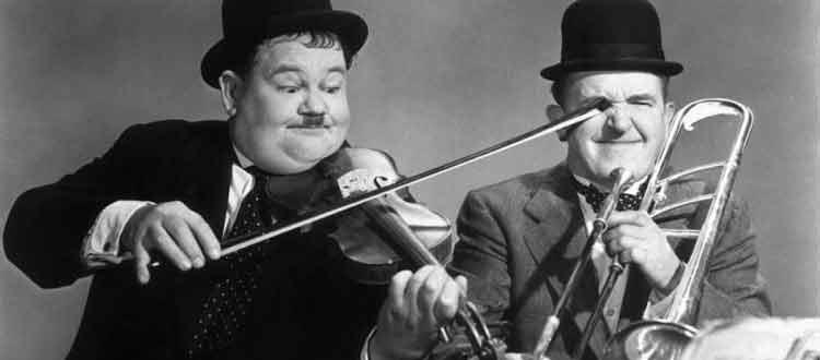 Laurel et Hardy, 88 traumatismes oculaires lors des 92 films tournés ensemble