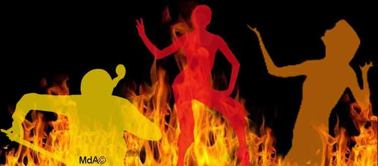 Burn-out chez le musicien, danseur, chanteur, circassien