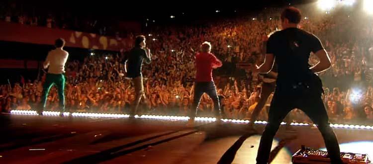 Pneumothorax d'une fan des One Direction lors d'un concert