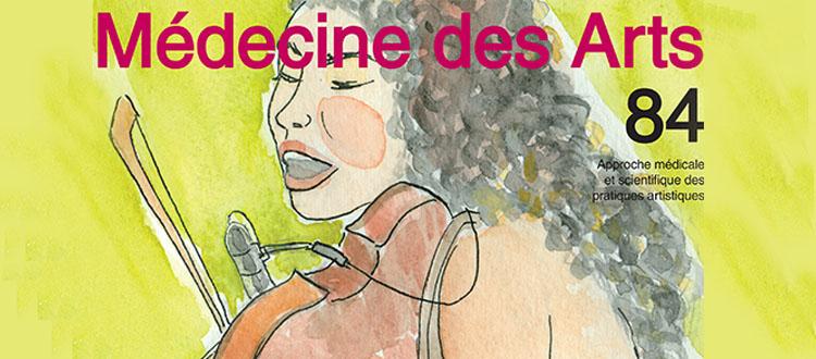 Revue Médecine des arts N°84 Spécial voix et vent
