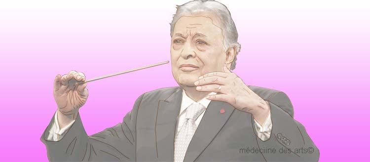 Le chef d'orchestre Zubin Mehta va subir une opération de l'épaule, un risque reconnu pour les musiciens