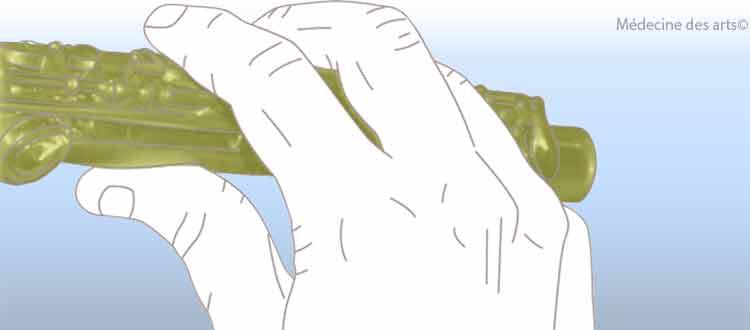 Hyperlaxité et pratique de la  flûte