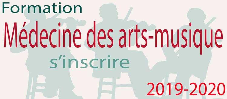 Cursus Médecine des arts-musique 2019-2010