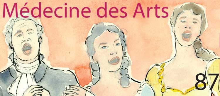 Revue Médecine des arts N°87 Spécial voix et vent
