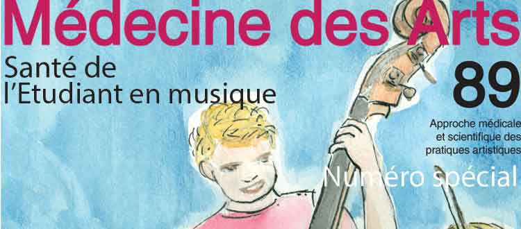 New issue of Medicine of the Arts: Music Students