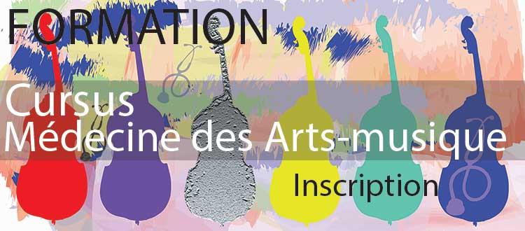 Formation Médecine des Arts-musique 2021-2022
