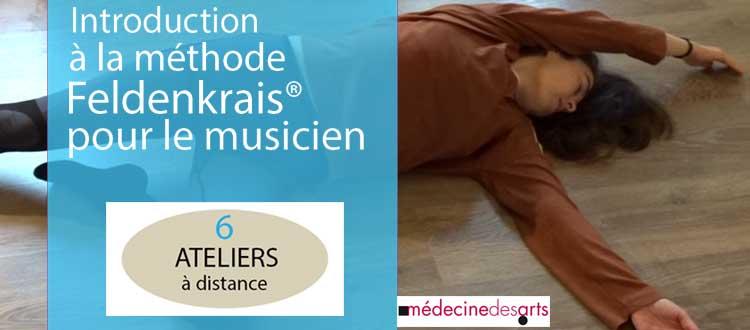 Ateliers : Introduction à la méthode Feldenkrais pour le musicien